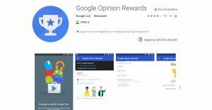 Google Opinion Rewards: sondaggi e opinioni