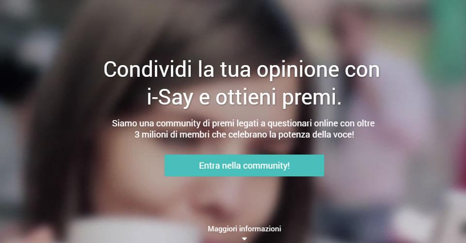 i-Say il panel targato IPSOS: sondaggi e opinioni